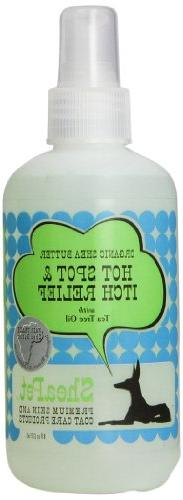 EARTHBATH 026505 Hotspot Itch Relief with Shea Butter and Te