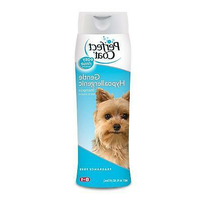 16 ounce gentle hypoallergenic dog shampoo no