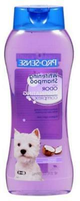 2PK ProSense 20 OZ Coconut Scented Whitening Dog Shampoo