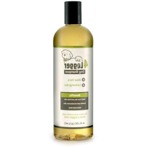 4 legger certified organic dog shampoo all