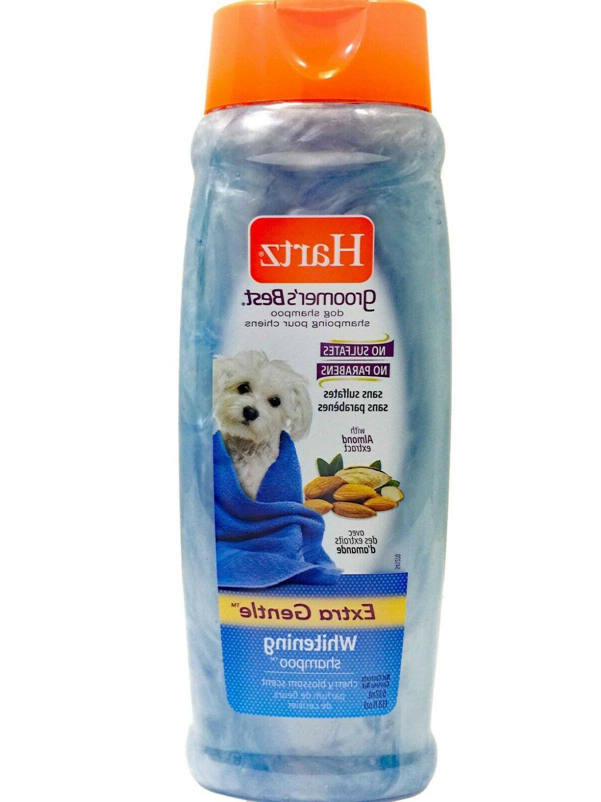 HARTZ - Groomer's Best Whitening Dog Shampoo - 18 fl. oz.