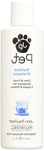 John Paul Products Pet Tearless Shampoo, 8oz.