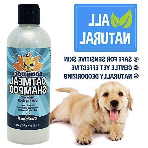 New All Itch Oatmeal Dog and Hypoallergenic Conditioning Dogs Cats | Treatment Wash Soothe Dry Itchy Skin Aloe