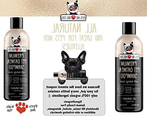 Pet Anti-Itch & In One! Smelly Cat Wash, NATURAL & For Irritated