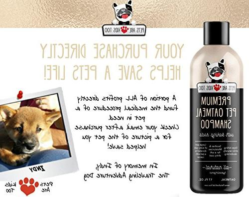 Pet & Conditioner In One! Smelly Puppy Cat ALL & For Irritated Skin!!