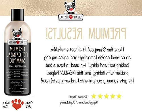 Pet Oatmeal Cat NATURAL & For Dry, Irritated