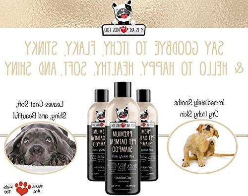 & In Smelly Dog & Cat For Itchy, Irritated Skin!!