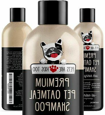 Pet Oatmeal Anti-Itch Shampoo & Conditioner In One! Smelly P