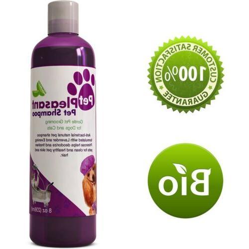 Pet Shampoo For Dogs & Cats Lavender + Evening Primrose Oil