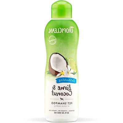 Tropiclean Lime & Coconut Deshedding Shampoo 592ml