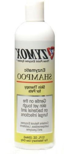 Zymox Shampoo Enzymatic Medicated Antibacterial and Antifung