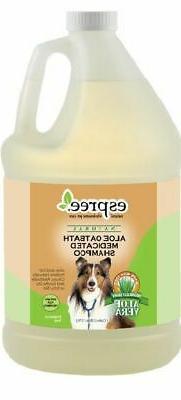 Espree Aloe Oatbath Medicated Shampoo for Dogs Net Content 1