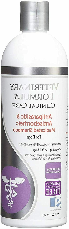 formula clinical care antiparasitic antiseborrheic medicated