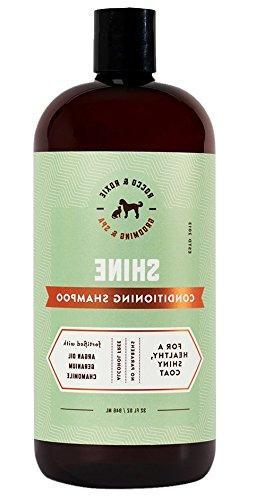 argan oil dog shampoo conditioner