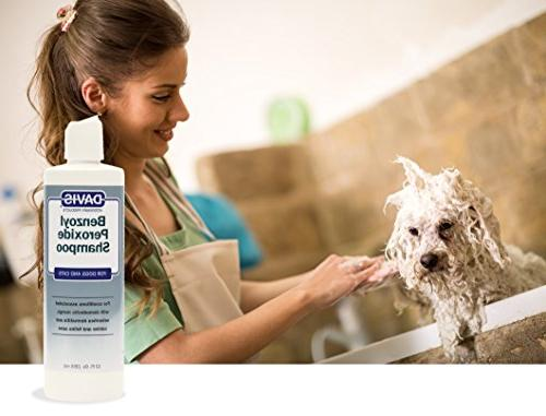 Davis Benzoyl Peroxide Dog 12 oz. and