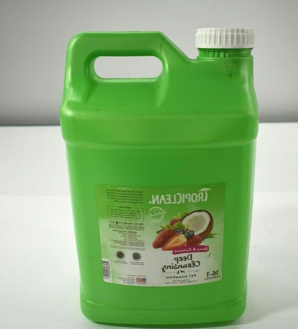 berry coconut deep cleaning pet