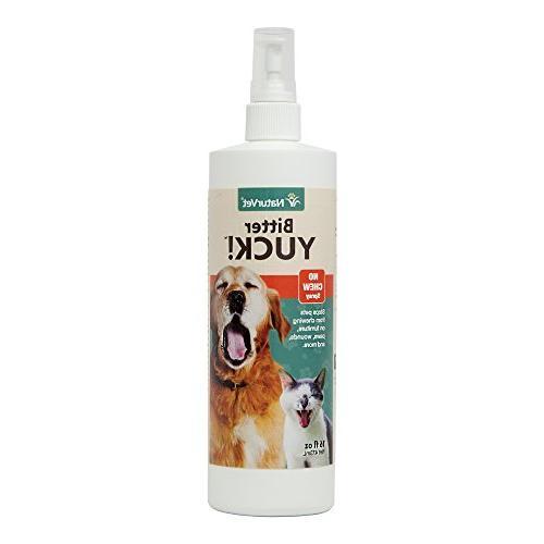 NaturVet Bitter Yuck! No Chew Spray -- 16 fl oz
