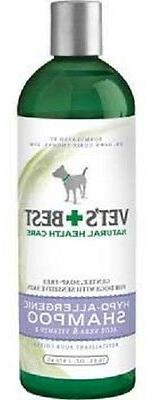 Bramton Company Vets Best HYPO ALLERGENIC SHAMPOO Dog 16 oz