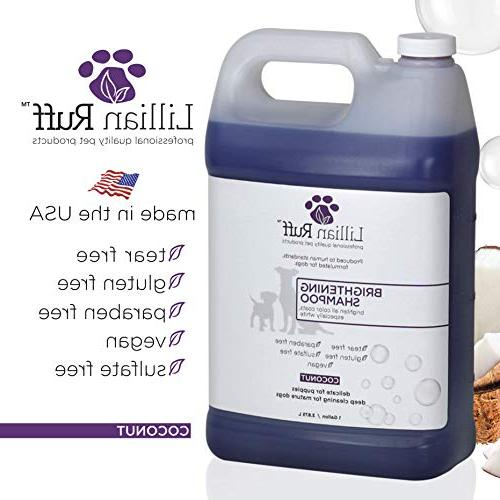 Lillian Whitening Dogs – Tear Scent Aloe for Normal, Dry Skin Adds & to Coats