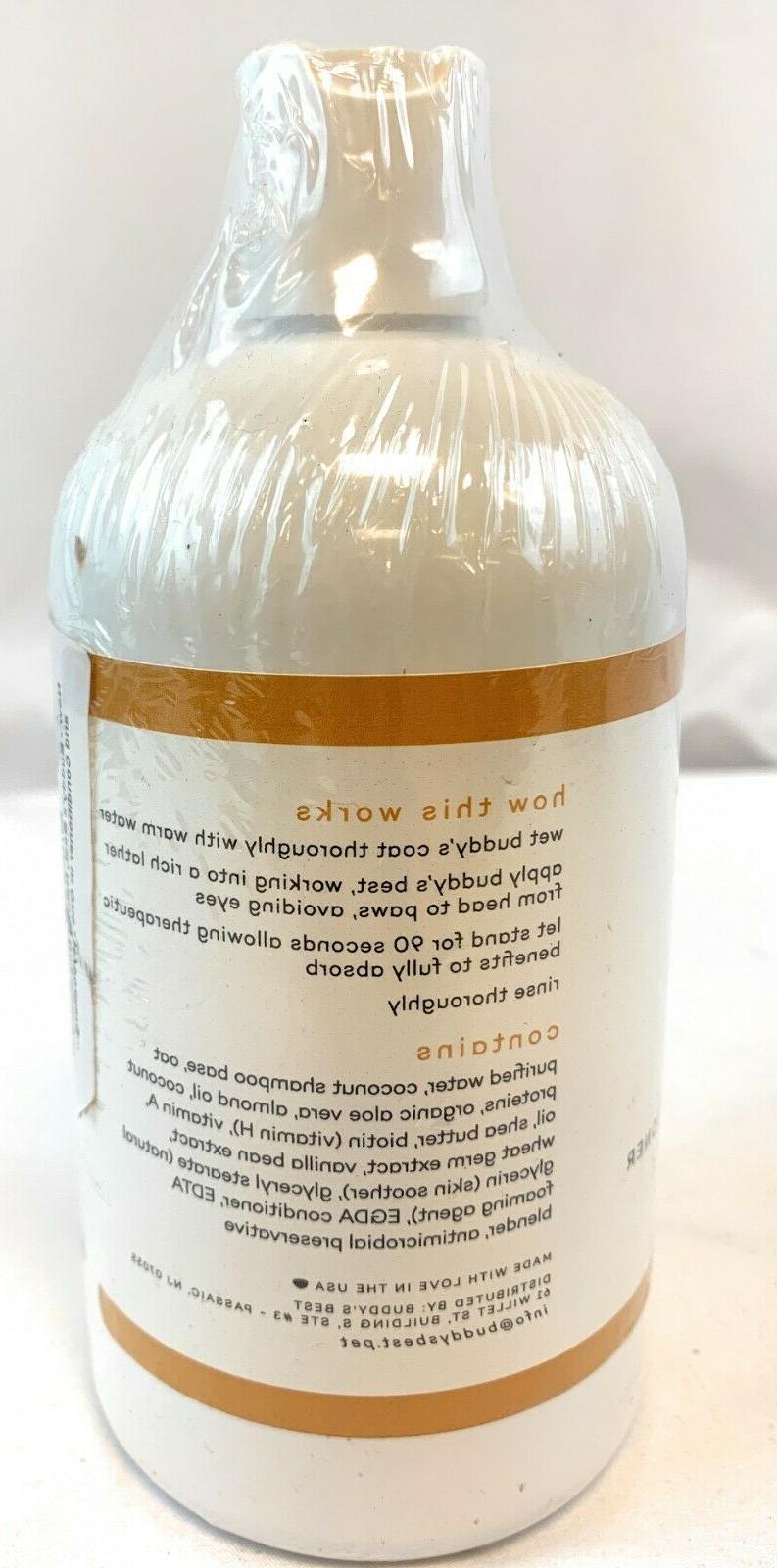 Buddy's Best, Shampoo - Hypoallergenic, Coconut