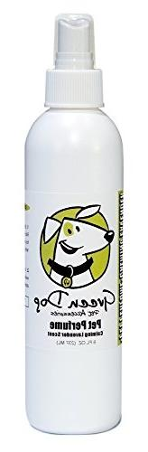 Green Dog Pet Perfume Bullet Bottle with Fingertip Sprayer,