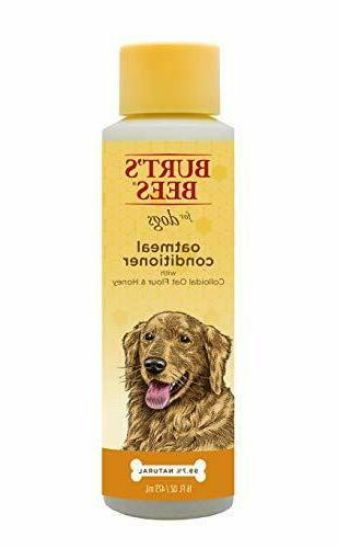 Burt's Bees for Dogs All-Natural Oatmeal Conditioner with Co