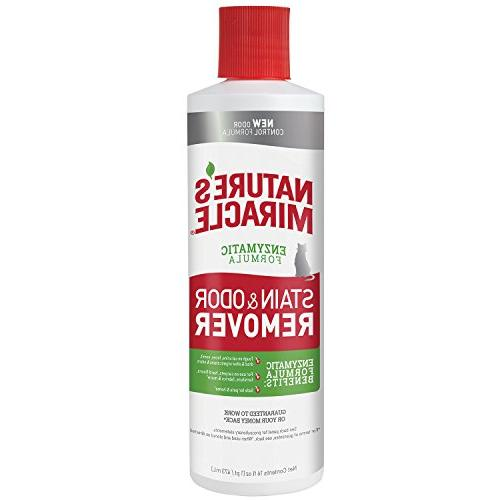 cat stain odor remover pour