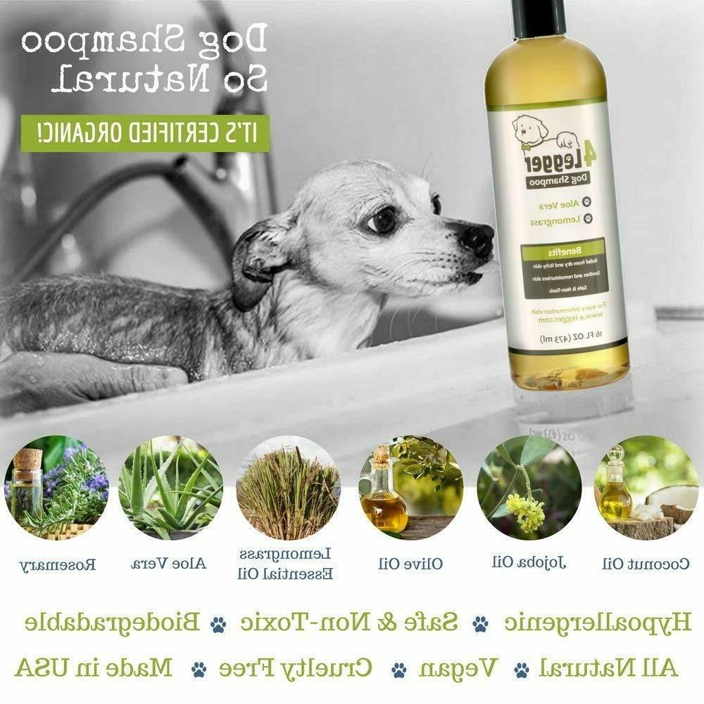 4Legger Certified Shampoo - Natural and Aloe