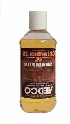 Vedco ChlorHex 2X 4% Antiseptic Pet Shampoo Chlorhexidine Do