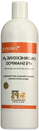 Chlorhexidine 4% Shampoo For Dogs, Cats & Horses, 16 oz.