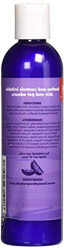Colloidal Dog Shampoo with Pure Lavender Oils Shampoo Skin - Odor Eliminator Shampoo