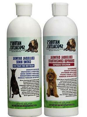 Nature's Specialties Colloidal Oatmeal Pet Shampoo, 16-Ounce