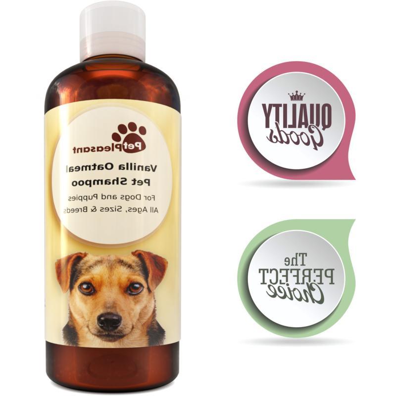 colloidal oatmeal shampoo for dogs with sensitive