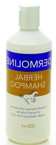 Demoline Herbal Shampoo For Hosrse 500ml- contains natrual e
