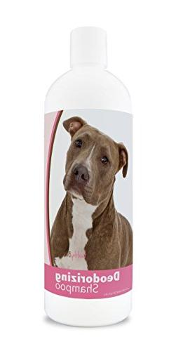 Healthy Breeds Deodorizing Dog Shampoo for Pit Bull, Brown -