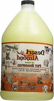 Groomers Edge Desert Almond Shampoo, 1 Gallon