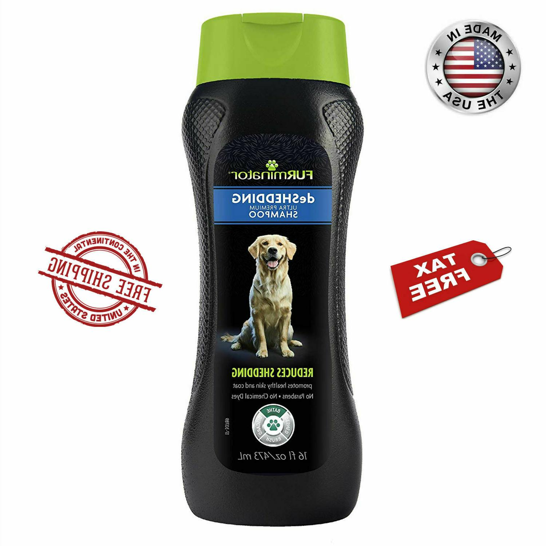 FURminator DeShedding Dog Shampoo Reduce Shedding Brushing F