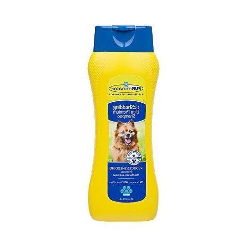 deshedding ultra premium dog shampoo to reduce