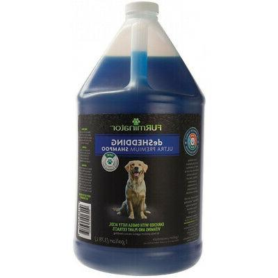 deshedding ultra premium shampoo for dogs in