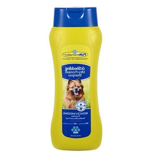 Furminator deShedding Ultra Premium Dog Shampoo, 16-Ounce