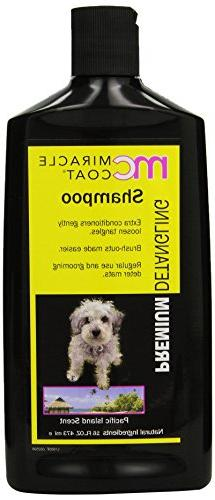 Miracle Coat Detangling Dog Shampoo 16 oz.