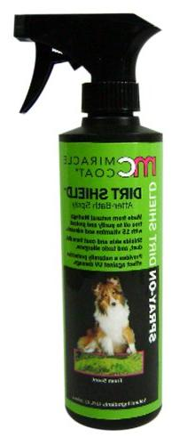 Miracle Coat Dirt Shield After-Bath Spray for Dogs - 12 oz