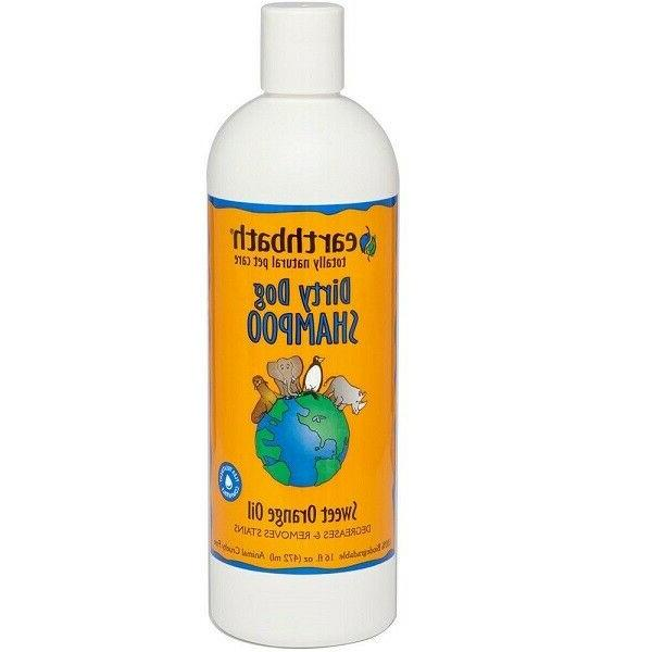Dirty Dog Shampoo Grooming Itching Relief Calming Pick Size