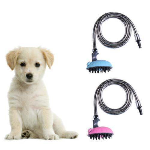 dog cat bath shower head massage tool