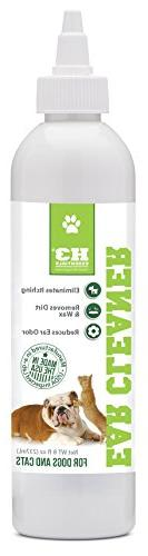 H3 Essentials Dog Ear Cleaner For Dogs and Cats with Aloe -
