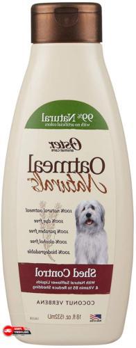 Dog Oatmeal Essentials Shampoo Shed Control Dogs Gentle Redu