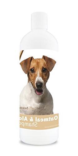 Healthy Breeds Dog Oatmeal Shampoo with Aloe for Jack Russel