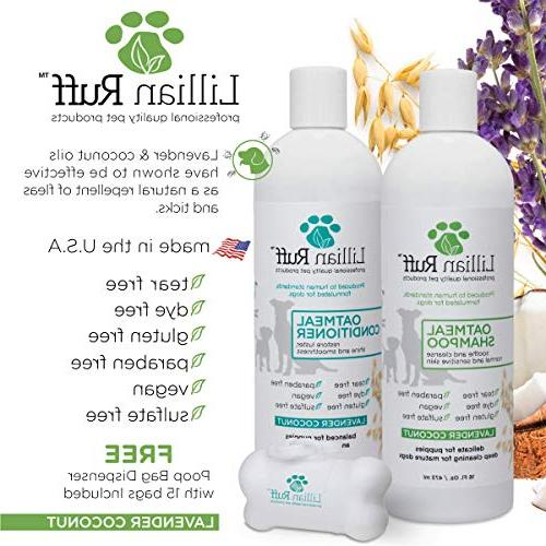 Lillian Shampoo - for Itchy Dry with Aloe- Soothe for to Skin