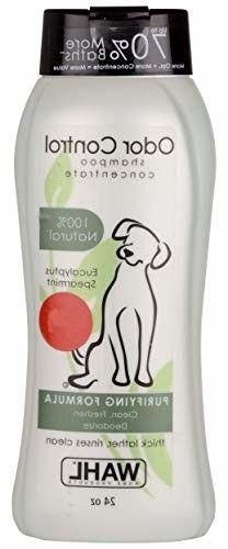 Wahl Dog/Puppy Shampoo Odor Control 24 ounce Eucalyptus and