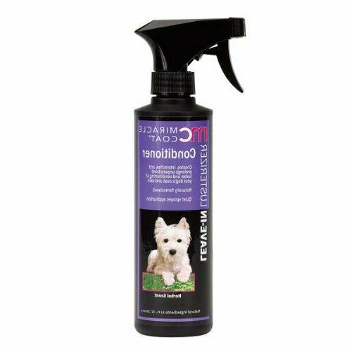dog shampoo 12 oz leave in conditioner
